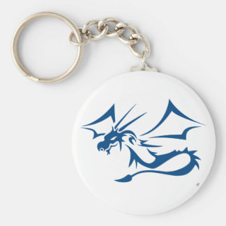 Lambton the Blue Dragon Keychain