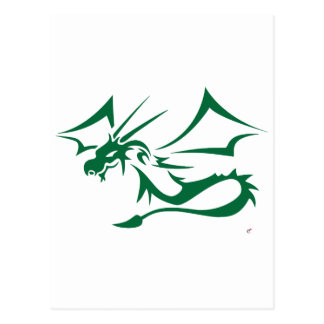 Lambton the Green Dragon Postcard