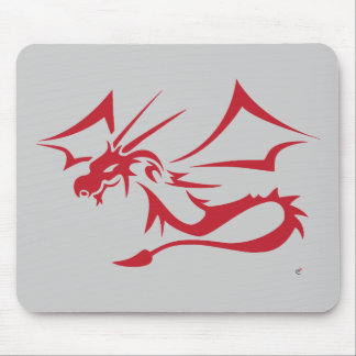 Lambton the Red Dragon Mouse Pad