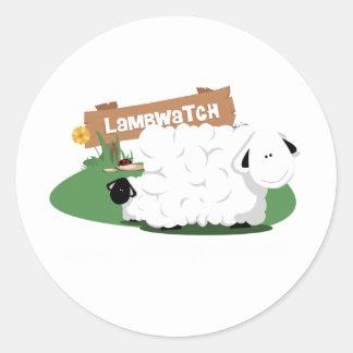 LambWatch! Classic Round Sticker