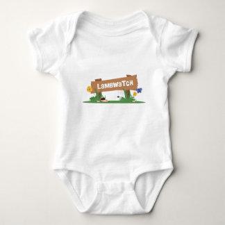 LambWatch Logo! Baby Bodysuit