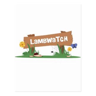 LambWatch Logo! Postcard