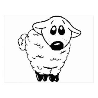 lamby postcard