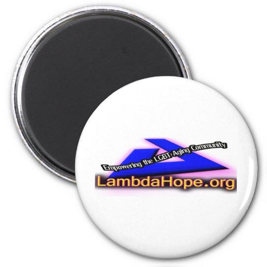 Lamda Hope Logo Magnet