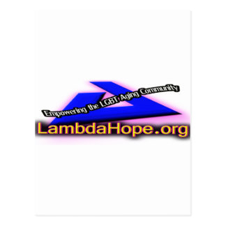 Lamda Hope Logo Postcard