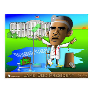 Lame Doc President Postcard