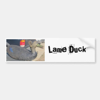 Lame Duck Bumper Sticker