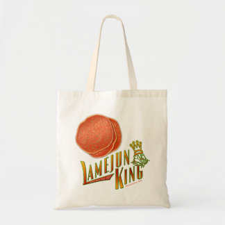 Lamejun King, Chef of Armenian Pizza! Tote Bags