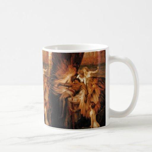 Lament for Icarus by Herbert Draper Coffee Mug