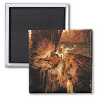 Lament for Icarus by Herbert Draper Fridge Magnet