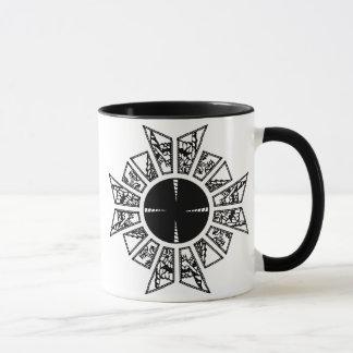 Lament star black mug