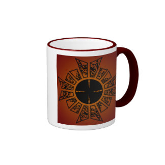 Lament star red, Lament star red Ringer Coffee Mug