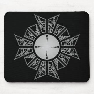 Lament star silver mouse pad