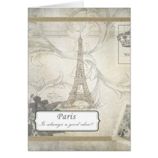 Lamentable:  ¡París es siempre una buena idea! Tarjeta De Felicitación