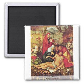 Lamentación de Albrecht Dürer Imán Para Frigorífico