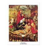 Lamentación de Albrecht Dürer Tarjetas Postales
