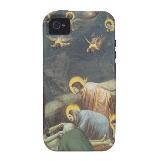 Lamentación de Giotto de Cristo iPhone 4 Funda