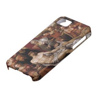 Lamentación de Maerten Heemskerck- en el Cristo mu iPhone 5 Carcasas