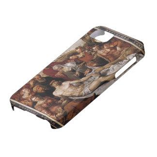 Lamentación de Maerten Heemskerck- en el Cristo mu iPhone 5 Protectores