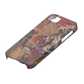 Lamentación de Nicolás Poussin- sobre el cuerpo de iPhone 5 Case-Mate Fundas