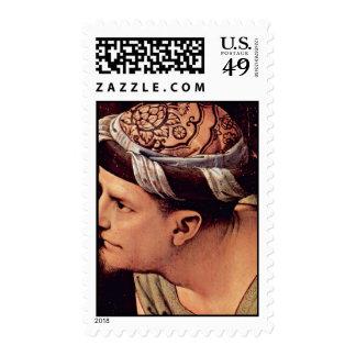 Lamentación de Pedro Perugino (la mejor calidad) Sellos