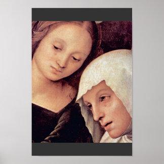 Lamentación de Perugino Pedro (la mejor calidad) Posters