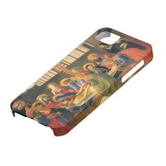 Lamentación del Fra Angelico- sobre Cristo iPhone 5 Case-Mate Cárcasas