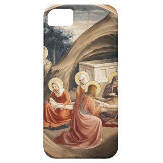 Lamentación del Fra Angelico- sobre Cristo iPhone 5 Case-Mate Fundas