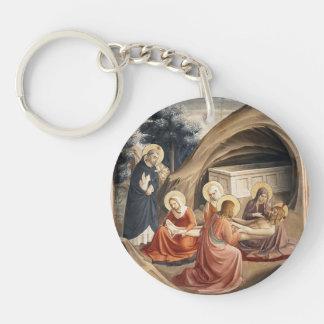 Lamentación del Fra Angelico- sobre Cristo Llaveros