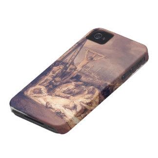 Lamentación sobre Cristo muerto de Petrus Christus Case-Mate iPhone 4 Fundas
