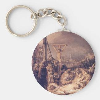 Lamentación sobre Cristo muerto de Petrus Christus Llavero