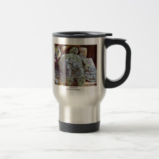 Lamentation By Andrea Mantegna 15 Oz Stainless Steel Travel Mug
