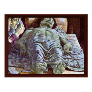 Lamentation By Andrea Mantegna Post Card