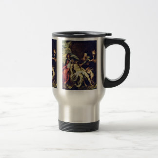 Lamentation By Dyck Anthonis Van Coffee Mugs
