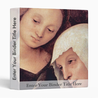 Lamentation  By Perugino Pietro (Best Quality) 3 Ring Binder