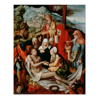 Lamentation for Christ, 1500-03 Poster