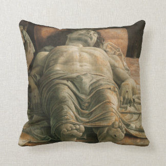 Lamentation of Christ by Andrea Mantegna Throw Pillow