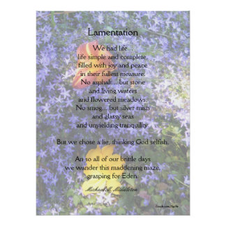 Lamentation Posters