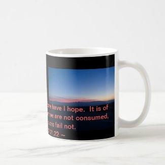 Lamentations 3:21-22 mugs