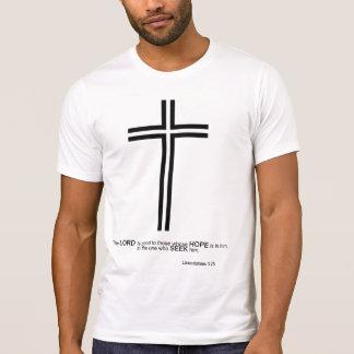 """Lamentations 3:25"" The LORD is GOOD tshirt"