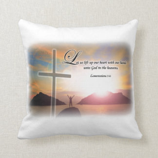 "Lamentations 3:40 - Throw Pillow 16"" x 16"""