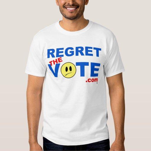 Lamente el voto playeras