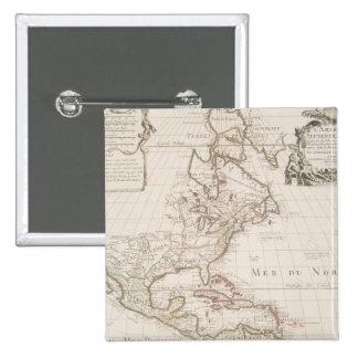 L'Amerique (1700) American Map Button