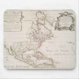 L'Amerique (1700) American Map Mouse Pad