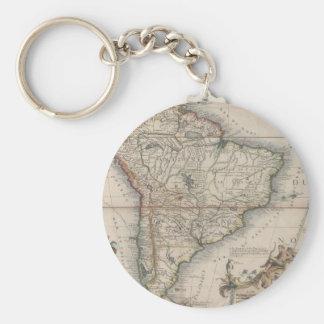 L'Amerique Meridionale (1689) Keychain