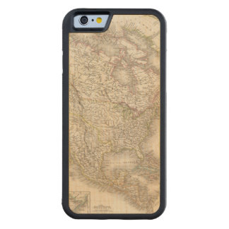L'Amerique Septentrionale - North America Carved® Maple iPhone 6 Bumper