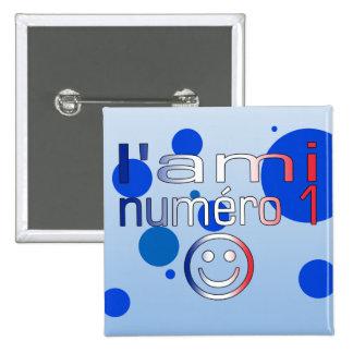 L'Ami Numéro 1 en los colores franceses de la band Pins