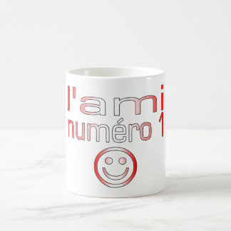 L'Ami Numéro 1 in Canadian Flag Colors for Boys Mugs