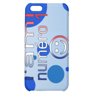 L'Ami Numéro 1 in French Flag Colors for Boys Case For iPhone 5C