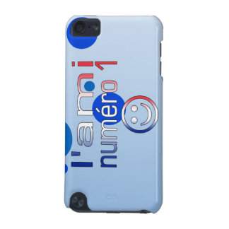 L'Ami Numéro 1 in French Flag Colors for Boys iPod Touch (5th Generation) Cover